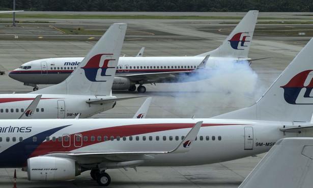 Samoloty Malaysia Airlines. Fot. AHMAD YUSNI/PAP/EPA