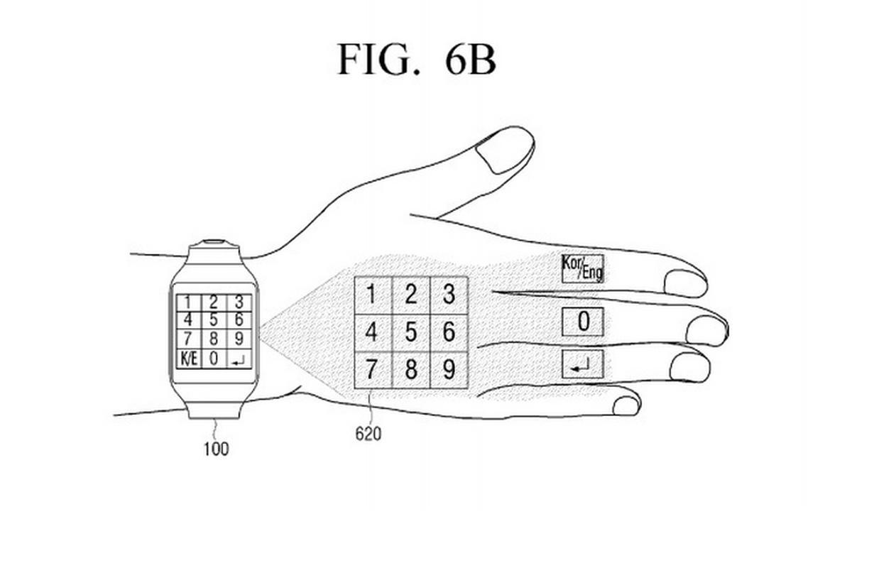 Patent inteligentnego zegarka z wirtualnym interfejsem