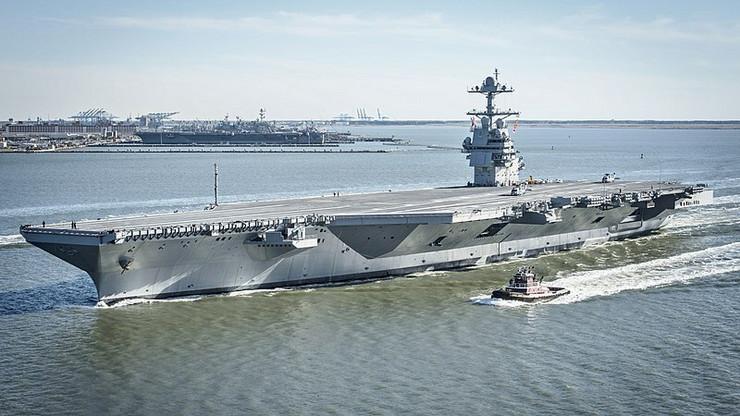 "Nosač aviona ""USS Džerald Ford"""