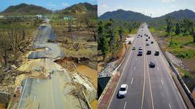 Portoryko pół roku po przejściu huraganu Maria