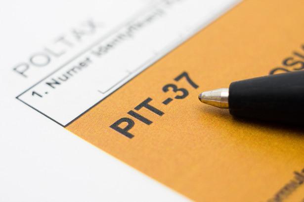 Formularz PIT-37