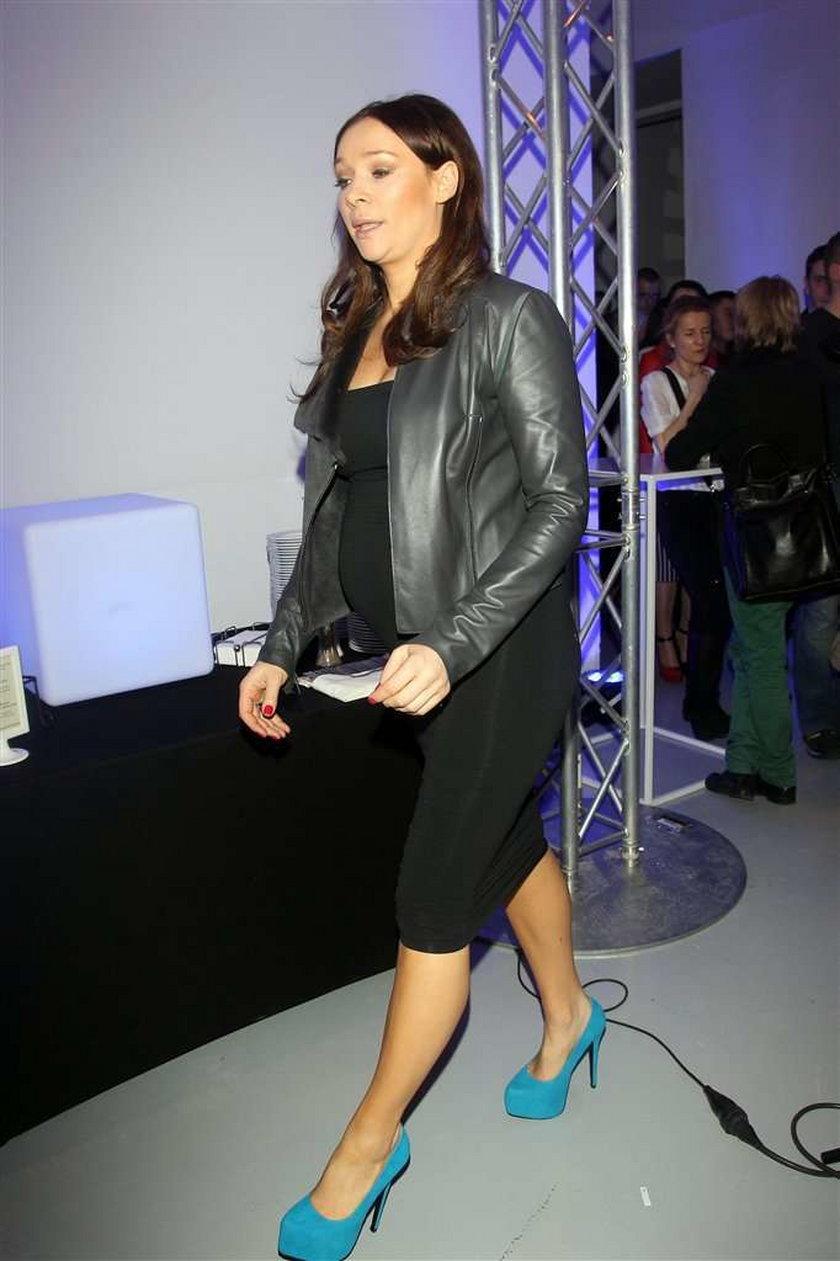 Sonia Bohosiewicz w ciąży. Ładnie wygląda?