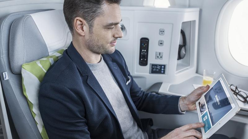 Na pokładzie Finnair
