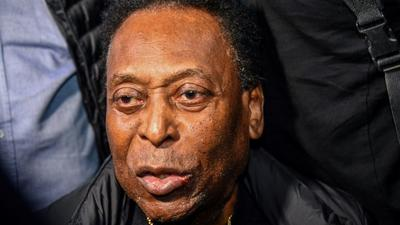 Legendary footballer, Pele hospitalised but in stable condition