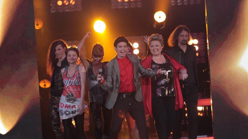 """Wielkie wejście finalistów """"X-Factor"""""""