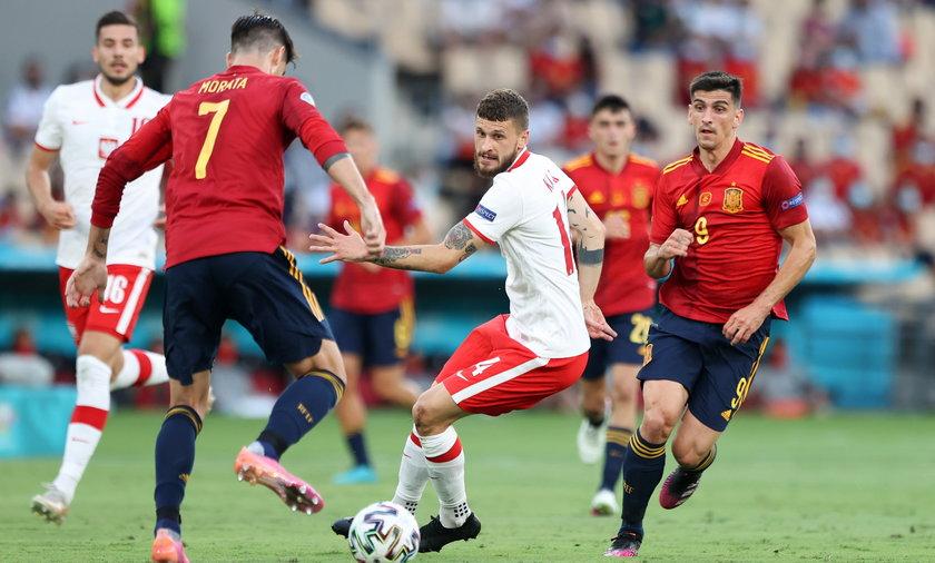 W meczu z Hiszpanią, zremisowaną przez reprezentację Polski 1-1, byliśmy skazywani na porażkę.