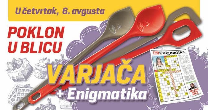 """Poklon varjača i enigmatski dodatak u četvrtak u """"Blicu"""""""