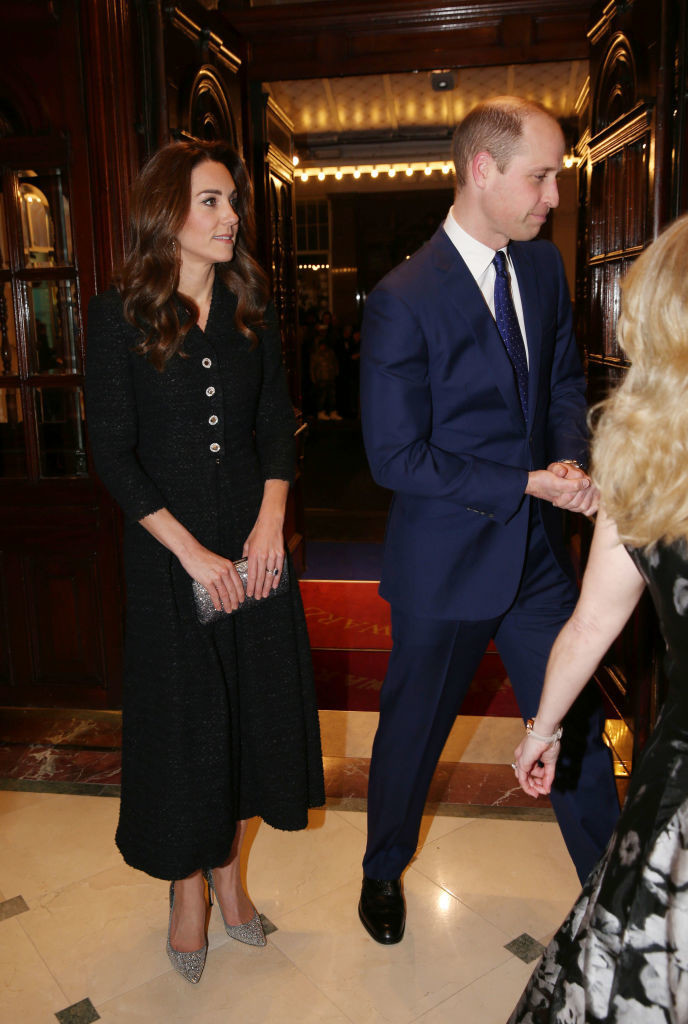 Kate Middleton w londyńskim teatrze / Getty Images / WPA Pool / Pool