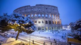 Pierwsze od 6 lat opady śniegu w Rzymie
