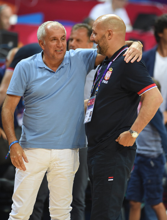 Željko Obradović i Aleksandar Đorđević
