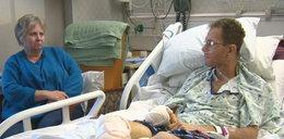Przeżył wypadek, żył 6 dni obok trupa!