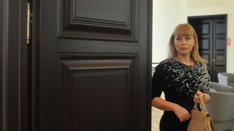 Minister rozwoju regionalnego Elżbieta Bieńkowska