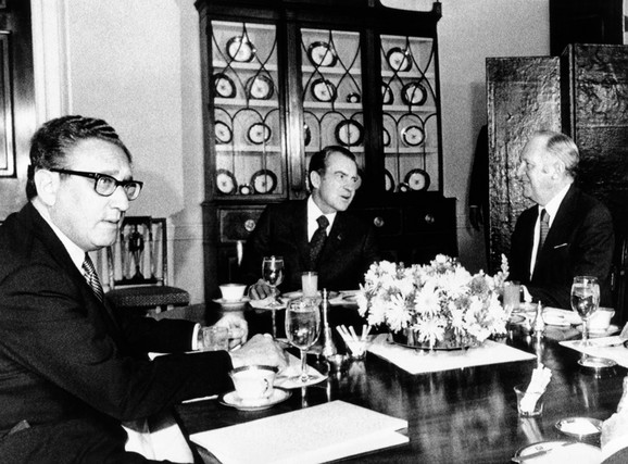 Henri Kisindžer, nekadašnji šef američke diplomatije