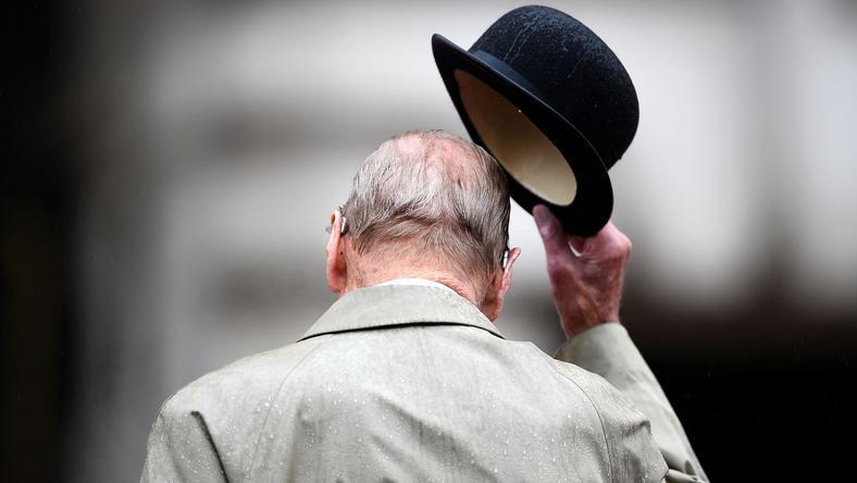96-letni książę Filip wycofał się z życia publicznego