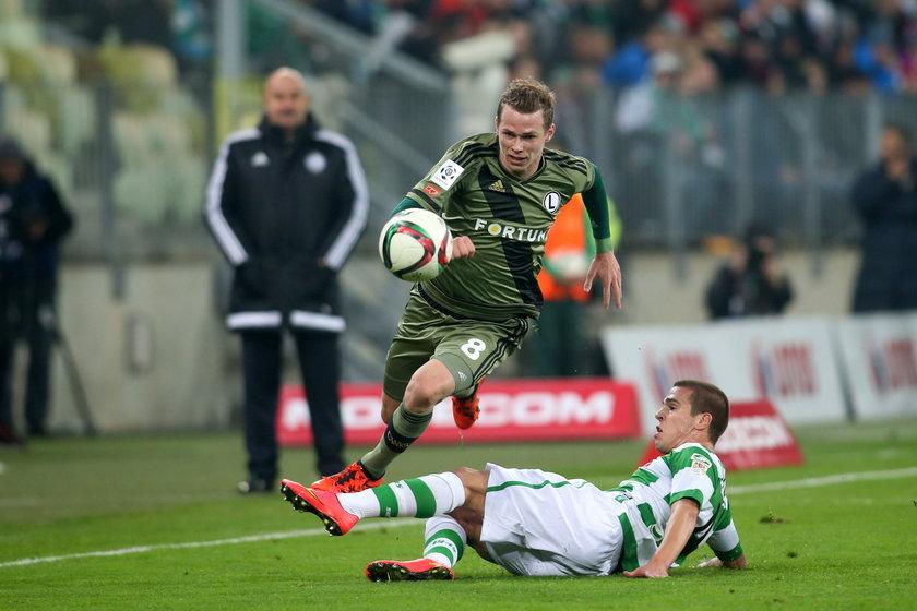 Trzy gole w osiem minut! Legia przełamuje się w Gdańsku