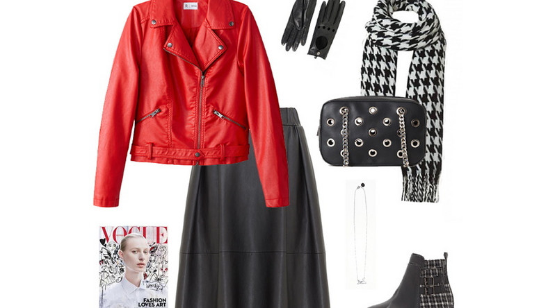 Black&White to klasyk, który króluje na wybiegach we wszystkich sezonach, ale to właśnie jesienią i zimą nosimy to połączenie najchętniej. Nie zapominajcie jednak, że jesień powinna być kolorowa, więc warto przemycić do takiej stylizacji trochę intensywnego koloru. Czerwień to zdecydowany must have tej jesieni, więc śmiało możesz zaadoptować ją do swojej szafy.