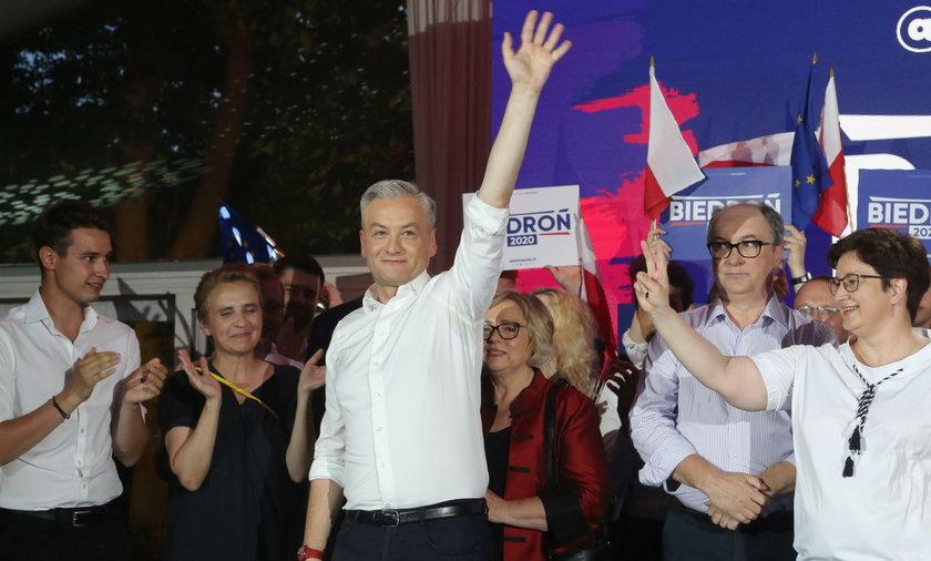 Zaskakujące wyniki w Słupsku. Mieszkańcy nie wybrali Biedronia...