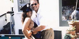 Arnie ze striptizerką. Strzelił z nią partyjkę w...