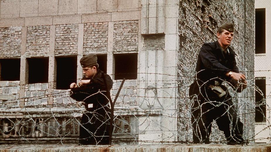 Umacnianie muru berlińskiego, 1962 r.