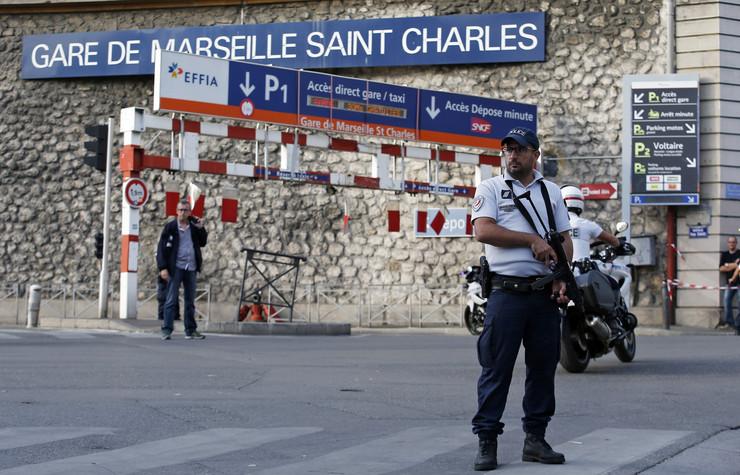 Francuska policija, EPA Sebastien Nogier