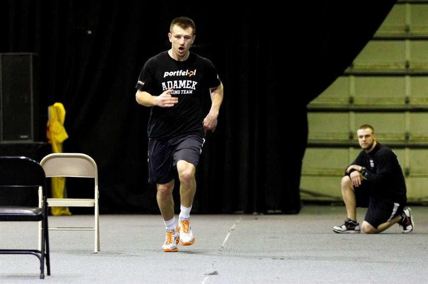 Adamek jak sprinter