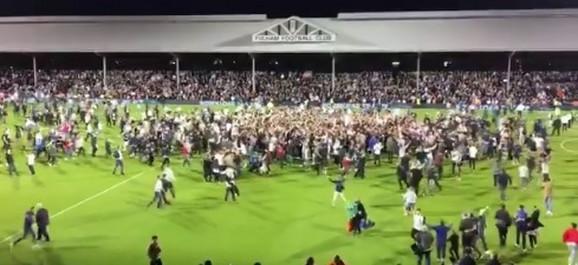 Navijači Fulama slave ulazak u Premijer ligu