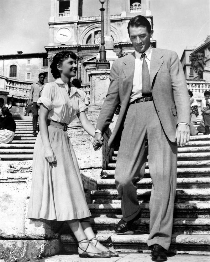 """Fantastična u filmu """"Praznik u Rimu"""" 1953. u kojem je igrala kraj Gregorija Peka"""