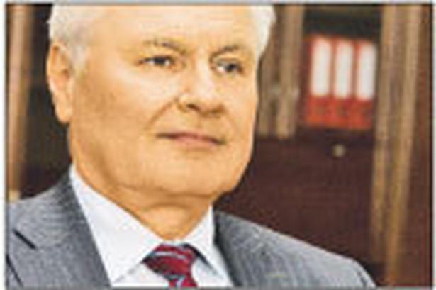 prof. Andrzej Kraszewski, minister środowiska