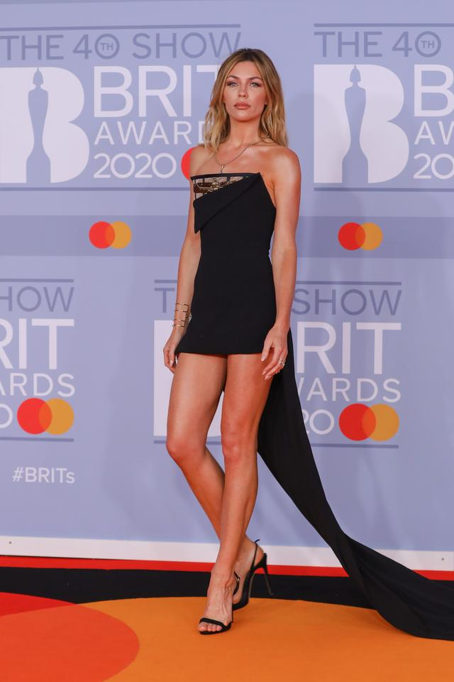 Brit Awards 2020: Abbey Clancy