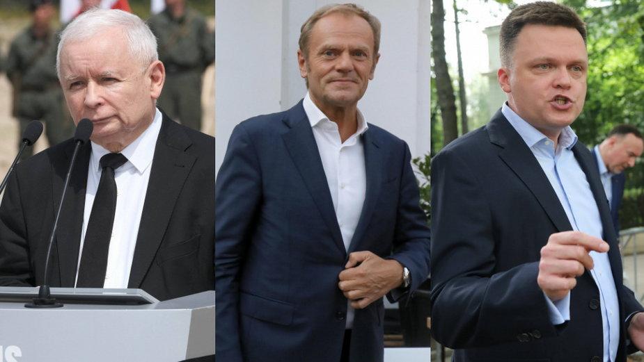 Sondaż partyjny: PiS wciąż na prowadzeniu. Pościg Koalicji Obywatelskiej