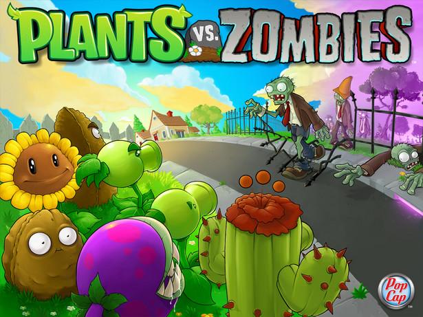 """Plants vs. Zombies"" - gra studia PopCap Games"