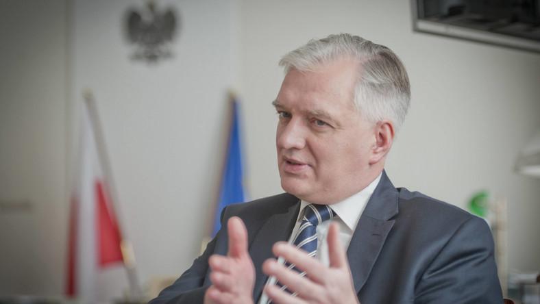 Minister sprawiedliwości Jarosław Gowin