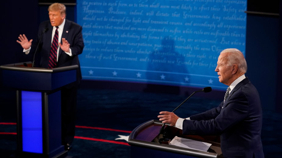 Prezydencka debata w Cleveland w niczym nie przypominała merytorycznych dyskusji z prawdziwego zdarzenia