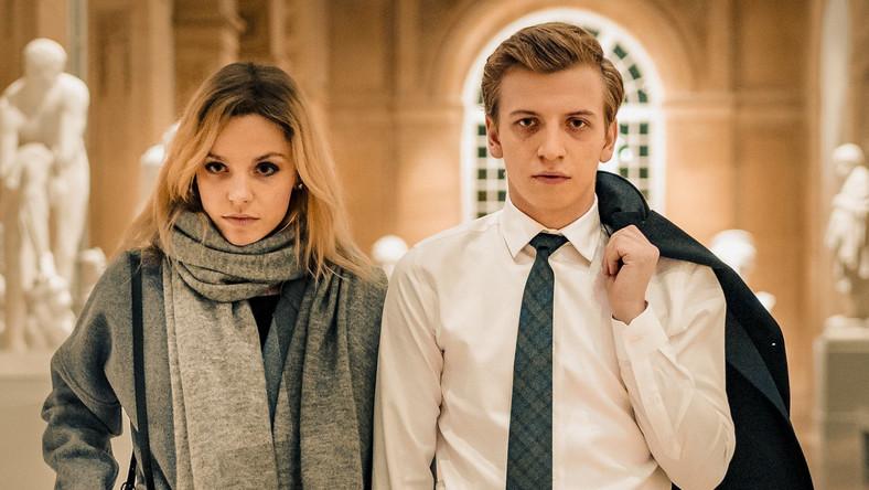 """Vanessa Aleksander oraz Maciej Musiałowski w filmie """"Sala samobójców. Hejter"""" w reżyserii Jana Komasy"""
