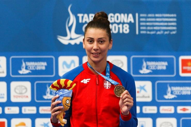 Ana Bajić, tekvondo +68kg, zlato