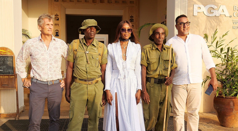 Kenya's Tourism Cabinet Secretary, Najib Balala, explains why Naomi Campbell was chosen as tourism ambassador