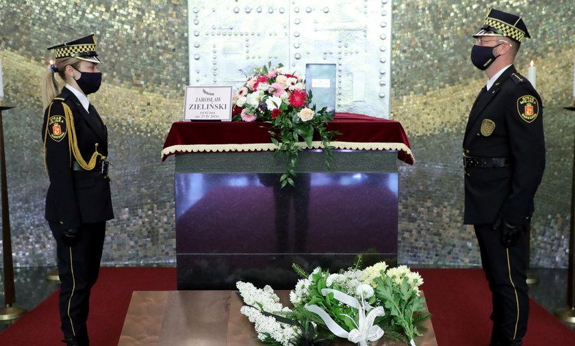 Pogrzeb Jarosława Zielińskiego.