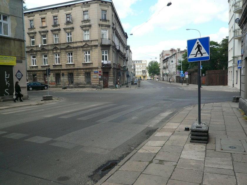 Plan zdjęciowy w Łodzi. Uważaj na znaki