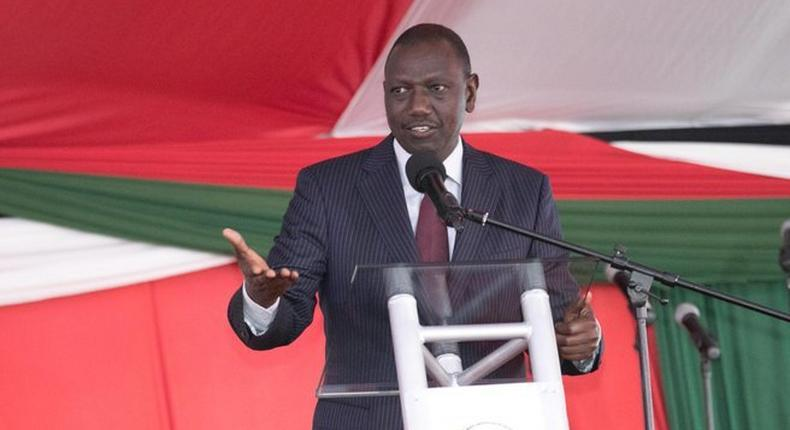 DP William Ruto addressing the 17th National Prayer Breakfast. He suggested offering Raila to take up Prime Minister's job in UK following Theresa May's resignation