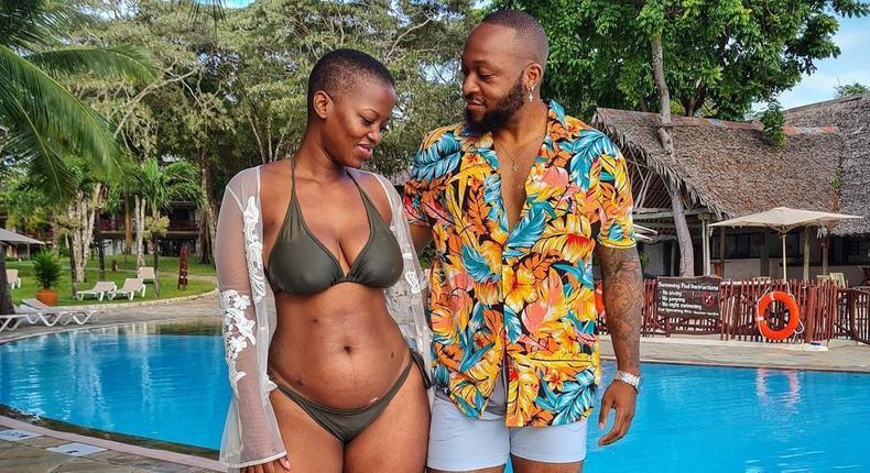 Corazon Kwamboka with Frankie Just GymIt