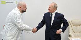 Lekarz oprowadzał Putina po szpitalu. Ma koronawirusa