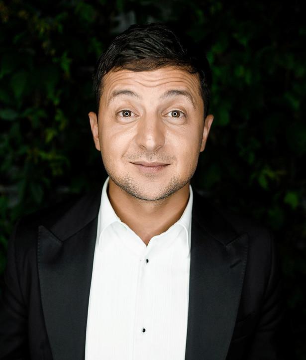 Wołodymyr Zełenski - komik, startujący w wyborach prezydenckich na Ukrainie Kvartal95 official [CC BY-SA 4.0], from Wikimedia Commons