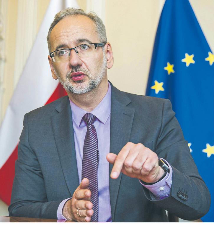 Adam Niedzielski, minister zdrowia  fot. Wojtek Górski