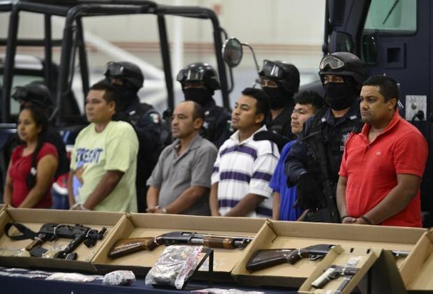 Aresztowani członkowie kartelu narkotykowego z Acapulco