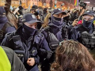 Rzecznik KSP: Podczas protestów w Warszawie zatrzymaliśmy 13 osób