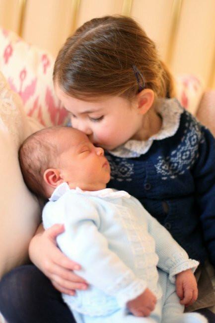 Książę Louis i księżniczka Charlotte