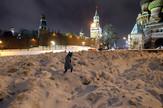 Moskva, sneg, EPA -  MAXIM SHIPENKOV