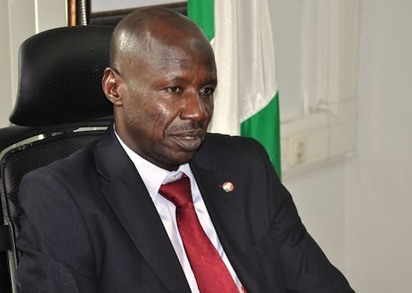 Acting EFCC Chairman Ibrahim Magu, has twice been rejected by the senate (Punch)