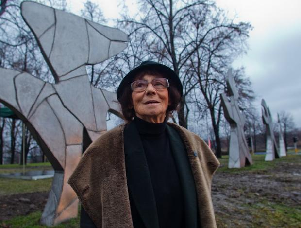 Magdalena Abakanowicz w 2010 roku