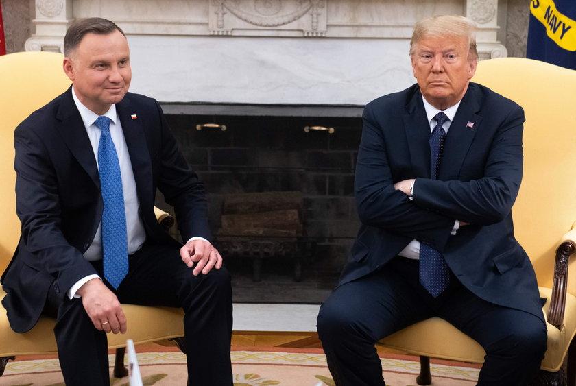 Duda i Trump: relacje polsko-amerykańskie nigdy nie były lepsze